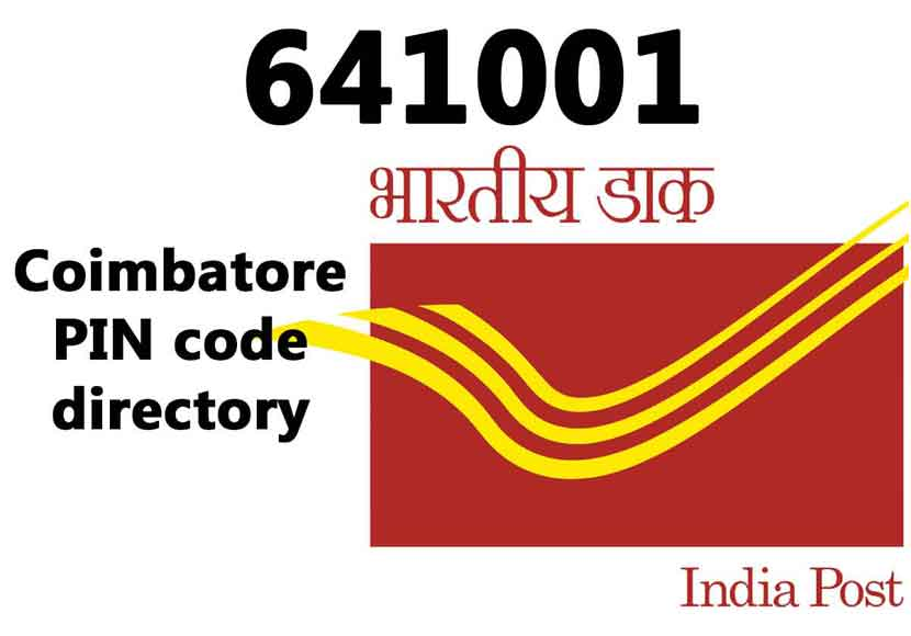coimbatore Pin code number is 641001